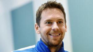 Kasper Hämäläinen inför Finlands VM-kvalmatch mot Kroatien.