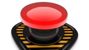Röd knapp