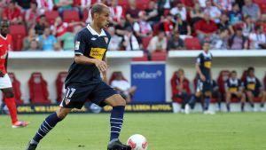 Javi Hervas spelar fotboll för FC Sevilla.