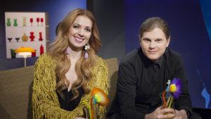 Jennie Storbacka och Axel Ehnström.