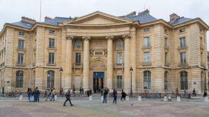 Sorbonne-universitetet i Paris.
