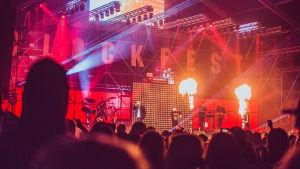 Rähinä Records -juhlashow Blockfesteillä.