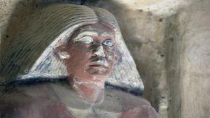 Bild från grav i Sakkara, Egypten
