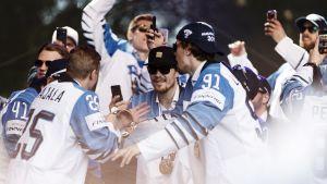 Guldlaget i ishockey-VM 2019.