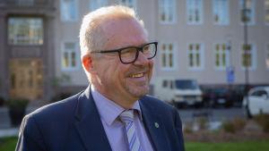 Raaseporin kaupunginjohtaja Ragnar Lundqvist.