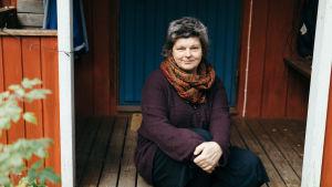 Poeten Agneta Enckell.