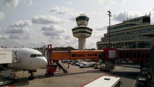 Kontrolltornet på flygplatsen Berlin-Tegel