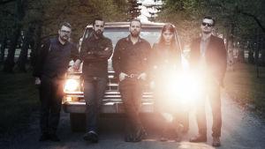 Medlemmarna i bandet The Heartbeat Band
