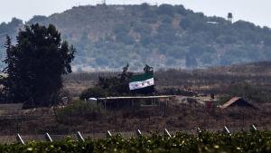 Syriska trupper och islamistrebeller drabbade samman i Golan.