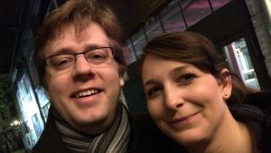 Kebus fans: Mira och Jana från Prag