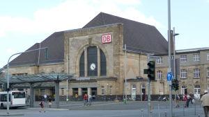 Centralstationen i Mönchengladbach