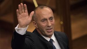 Kosovos premiärminister Ramush Haradinaj.