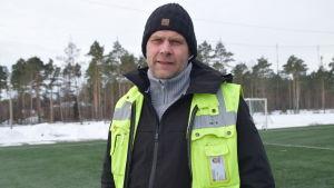 Joakim Mäkelä är ansvarig parkchef i Raseborg.