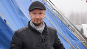 Sirkus Finlandias cirkusdirektör Carl Jernström jr.