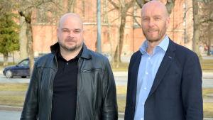 TeeSe Botnias vd Henrik Vehkaoja och Mico Botnias vd Juha Suikkanen