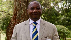 Geoffrey Wahungu leder miljömyndigheten i Kenya