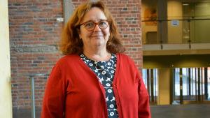 Ritva Mertaniemi, projektledare för projektet En bra start i Österbotten.