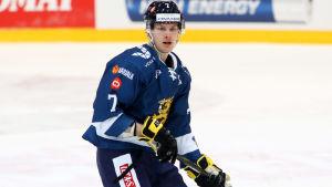 Urho Vaakanainen hann också debutera i herrlandslaget i våras.
