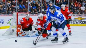 Aarne Talvitie spelar ishockey.