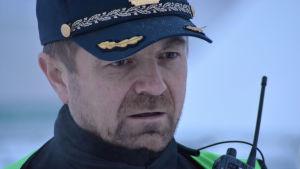 Kåre Granheim, insatsledare i sökoperationen i Tamokdalen.