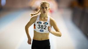 Nathalie Blomqvist löper.