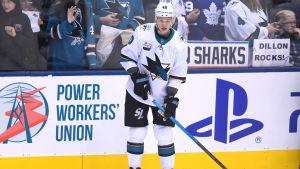 Antti Suomela fick inleda sitt nordamerikanska äventyr i NHL.