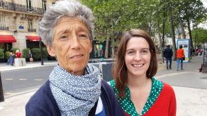 Lärarna i Paris, Odile och Zoe