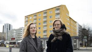 Maria Muilu ja Elli Suutari