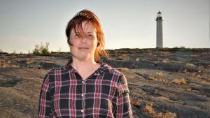 Karin Erlandsson och Sälskär fyr