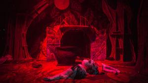 Scen från musikalen Fungus