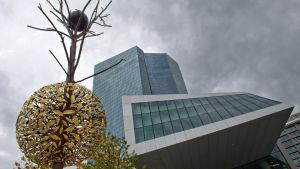 ECB:s huvudbyggnad i Frankfurt