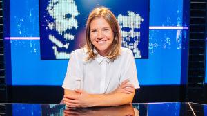 Sonja Kailassaari, domare i frågesporten Vem, vad, när på Yle Teema & Fem