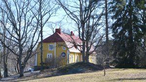 Caféet Sibbe på Joensuun tila i Sibbo - A.I Virtanens hem