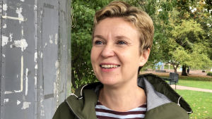 Kirjailija Sirpa Kähkönen