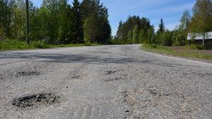 Rangsbyvägen i Närpes.