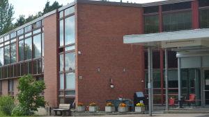 Tidigare flyktingförläggningen i Evitskog i Kyrkslätt.