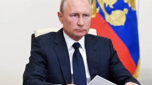 President Vladimir Putin talar till nationen 11.5.2020