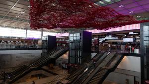 Nya flygfältet Berlin Brandenburg i Tyskland oktober 2020.