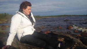 Helena Maijala tvingas ge bort sin stuga till kärnkraftsbolaget Fennovoima.