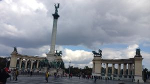 Hjältarnas torg i Budapest.