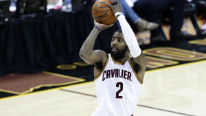 Kyrie Irving, still as a Cleveland Cavalier.