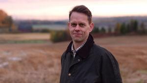 Mikael Jern är vd för Västankvarn gård i Ingå.