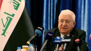 Iraks president Fuad Masum.