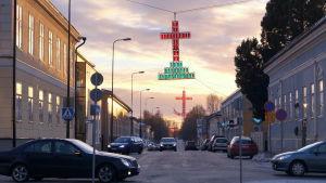 Storgatan i Jakobstad.