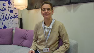 Johanna Castrén arbetar som läkare på Blodtjänst