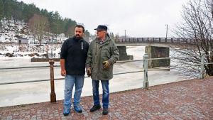 Ilker Güzel och Martin Nybergh