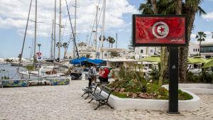 Gästhamnen i El Kantaoui i Sousse.