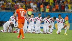 För fyra år sedan var Costa Rica en straffsparkstävling från en semifinalplats.