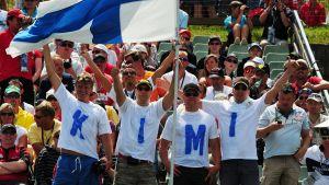 Kimi-fans.
