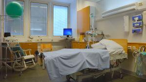 En förlossningssal vid ÅUCS.